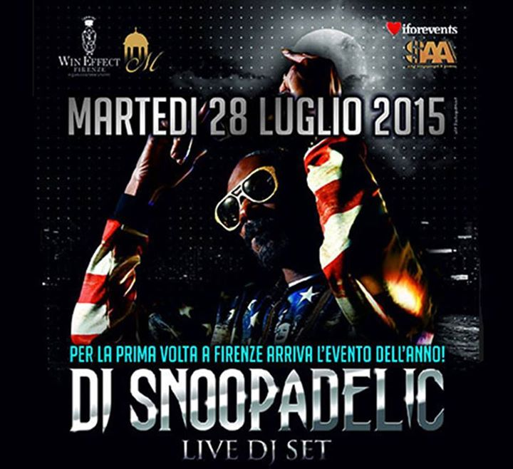snoop Dogg Firenze