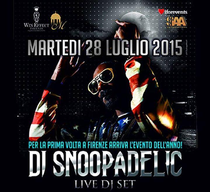snoop Dogg Firenze